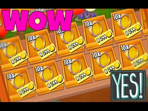 HAY DAY - HOW TO MAKE 100K GOLD IN 1 MINUTE