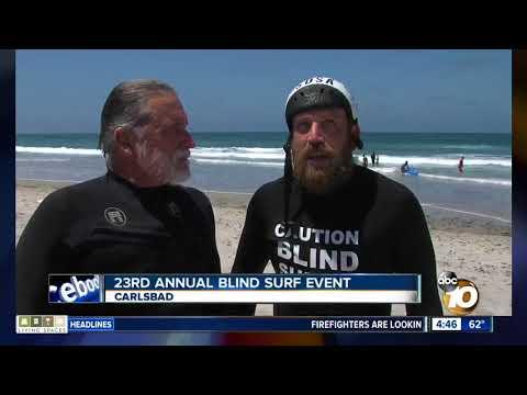 ABC 10 Highlights Blind Surf Event