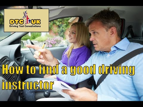 How to Find a Good Driving Instructor | DTC-UK | Driving Test UK