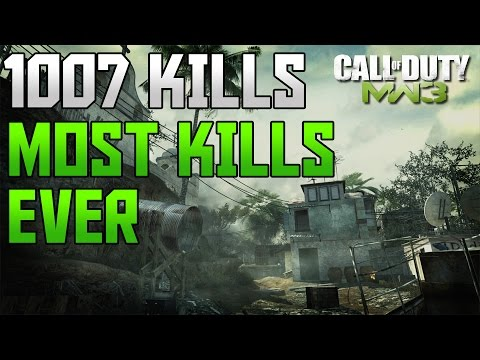 MW3: 1007 KILLS :: 20 MOABS MOST IN ONE GAME :: MOST KILLS IN COD HISTORY