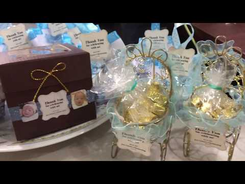 Christening Giveaways / Party-favors!