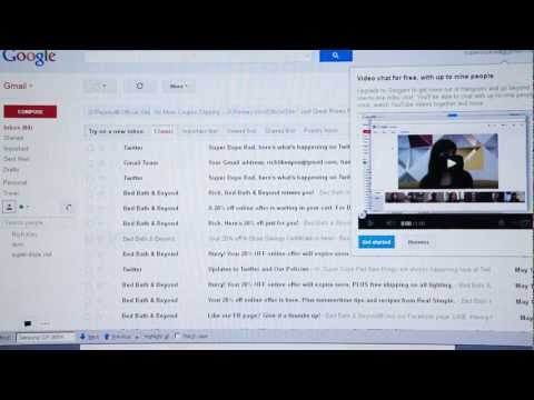 HOW TO DELETE some or ALL emails in your GMAIL inbox