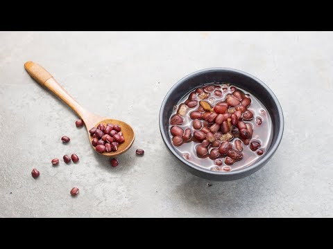 Red Bean Soup with Tangerine Peel | A Traditional Nutritious Chinese Dessert