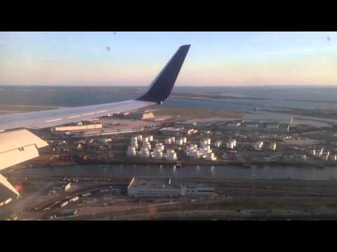 Takeoff at Oranjestad AUA and Landing/Taxi at New York JFK - Boeing 737-900 - Delta Airlines DAL 722