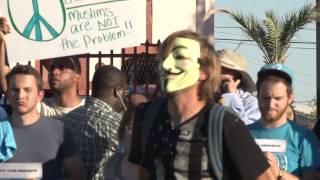 """Anti-Islam"" Rally in Phoenix, Arizona"