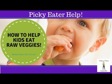 A Simple Tip to Encourage Kids to Eat Raw Veggies!