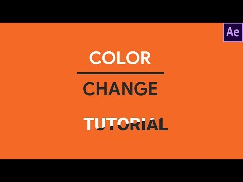 Reveal Text and Change Color With Shapes: After Effects Tutorial (Wipe Effect)