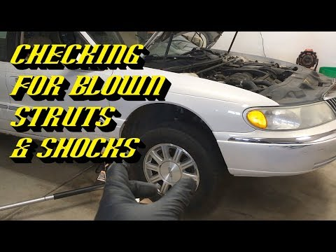 Ford Quick Tips #78: What a Failed Strut Looks Like and How To Test for it!