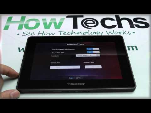BlackBerry PlayBook - How to Activate / Activation
