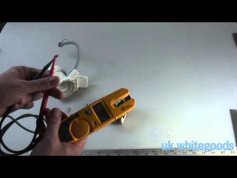 Washing Machine Drain Pump Testing