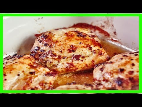 How to cook boneless, skinless chicken thighs in the oven