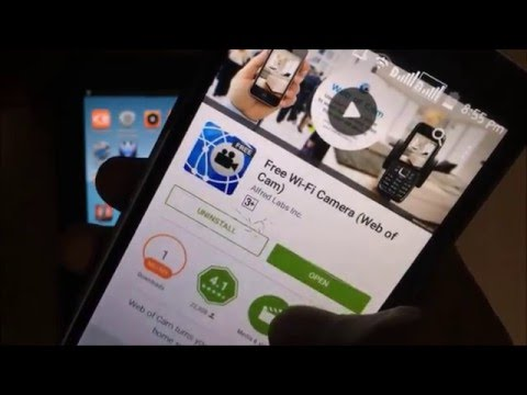HOW TO MAKE SECURITY/CCTV CAMERA WITHOUT INTERNET USING ANDROID PHONES.