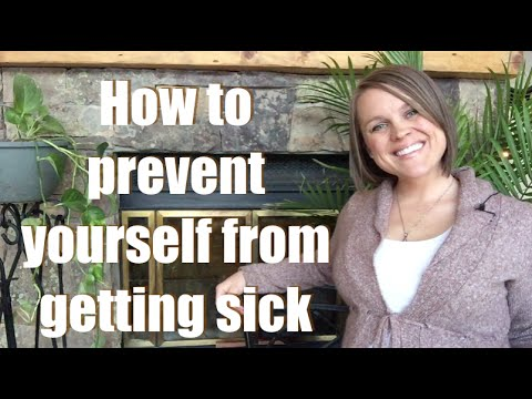 Keep yourself from getting super sick (cure a cold)