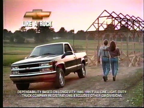 1997 Chevy Truck Commercial - Like A Rock