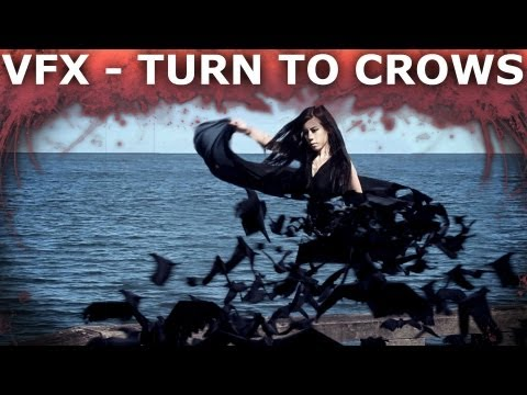 Dissolve Into Crows VFX Short Film & Breakdown - After Effects & 3dsMax