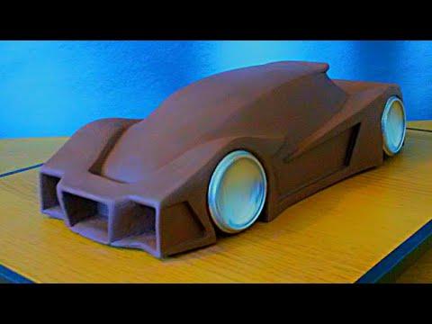 How I Make A Clay Car Model