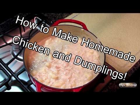 How to Make Chicken and Dumplings  | Useful Knowledge