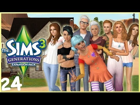 Let's Play: The Sims 3 Generations - (Part 24) - Makeovers & Daycare
