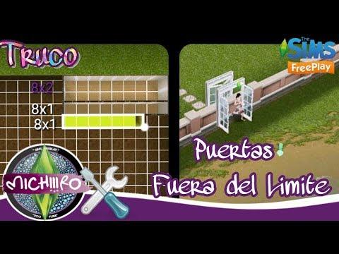 Sims FreePlay |👌| Glich - Truco |🔨| Colocar Puertas fuera del límite para ir a la Playa de tu solar