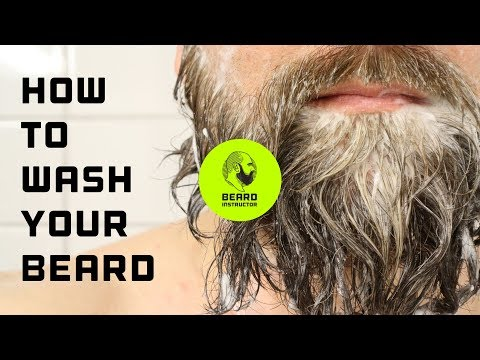 Tutorial: How to wash your beard | Beard Instructor