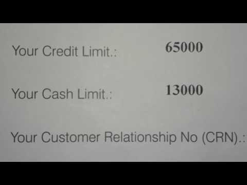 Unwrapping of kotak mahindra bank urbane credit card- cr limit- Rs.65,000  and cash lmt-  Rs. 13,000