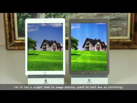 iPad Air 2 vs Samsung Galaxy Tab S2 9.7 Full Comparison