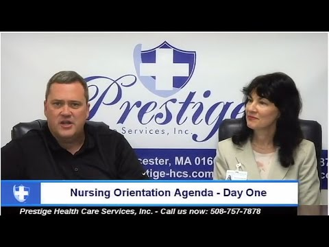 Agency Overview, Nursing Orientation Day One