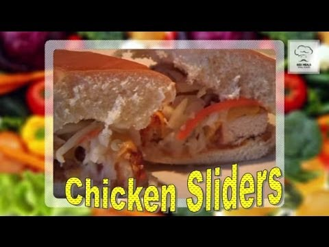 HOW TO MAKE CHICKEN SLIDERS: Big Meals, Small Places with Sal Governale