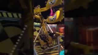 Hallie screaming 200 RPM wonderworld ride