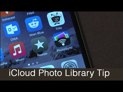 How to get photos on to iOS 8 iCloud Photo Library with PhotoSync