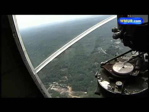 From the cockpit: Restored B-17 bomber takes flight over Manchester