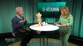 Allvarliga konsekvenser av D-vitaminbrist - så mycket behöver du äta - Malou Efter tio (TV4)