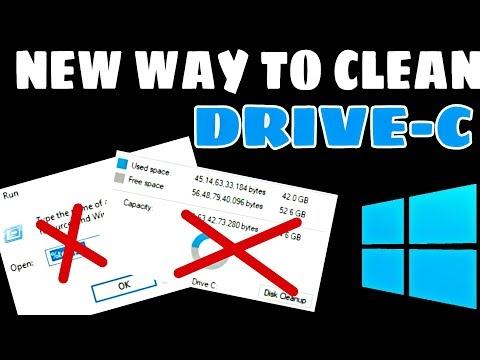 How to Clean Drive C in Windows 7,8,10   How to free space from Drive C