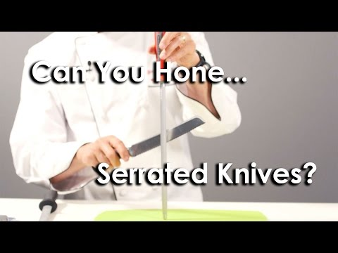 Quick Tip #4 - How to Hone a Serrated Knife