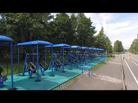 The biggest MB Barbell outdoor gym in Russia
