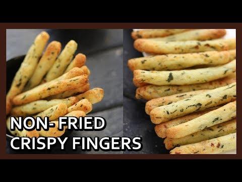Potato Fingers | Crispy Potato Rava Fingers Recipe | Airfryer Recipe by Healthy Kadai