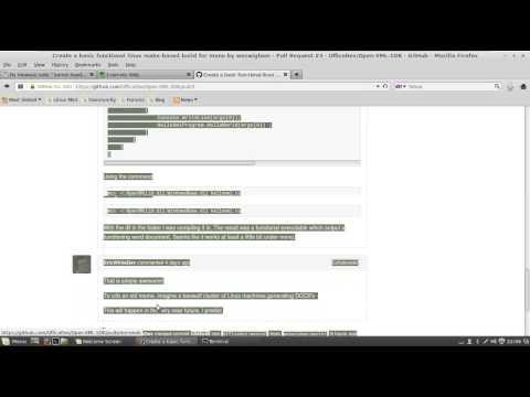 OpenXmlSdk Linux Mono