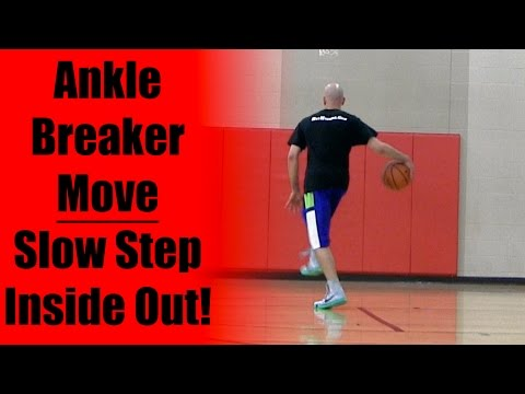 Basketball Moves: Inside Out Slow Step Between Legs Counter | Best Ankle Breakers