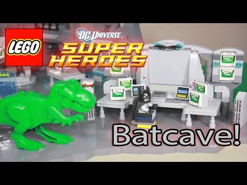 LEGO BATMAN - BATCAVE MOC - BAT COMPUTER - DC SUPERHEROES