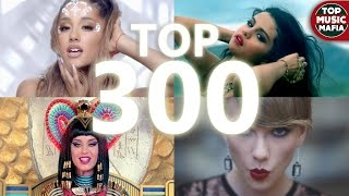 Top 300 Most Viewed Songs Of All Time (March 2017)