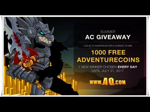 =AQW=  ( How to get 1000 free Ac'S AQW)