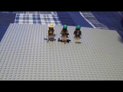 Lego Fallout NCR Trooper/Veteran Ranger