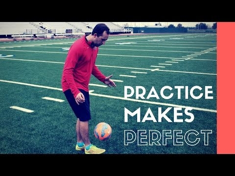 How To: Juggle The Soccer Ball For Beginners