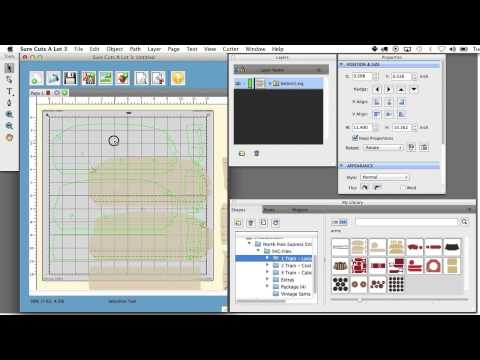 Separating SVG Files With Score Lines in Sure Cuts A Lot and Silhouette Studio Designer Edition