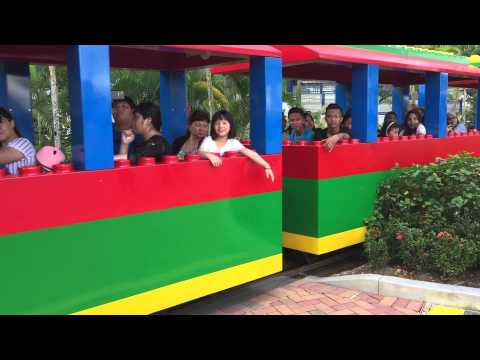 Legoland Malaysia Train (60fps available in 720p 1080p)