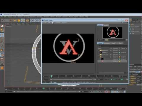 How to make a 3D Text animation