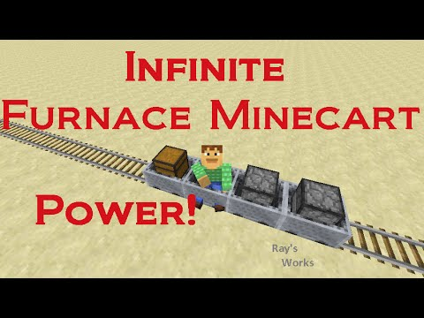 Infinite Furnace Minecart Power and MORE! 1.12-1.8+ Vanilla Survival | Ray's Works