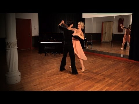 How to Do a Foxtrot Sway Step | Ballroom Dance