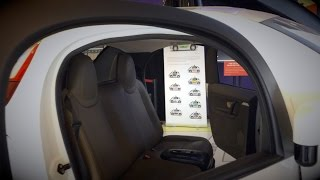 Google Self-Driving Car inside and details