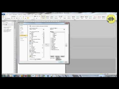 Creating Keyboard Shortcuts in Microsoft Word - GHR